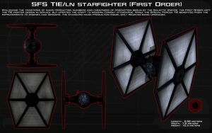 SFS TIE/ln (First Order) Ortho [New] by unusualsuspex