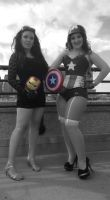 Rule 63 Avengers Cosplay - Hey, Cap... by SparrowsSongCosplay