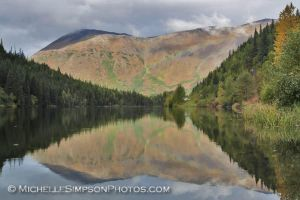 Rainbow Reflection by MSimpsonPhotos