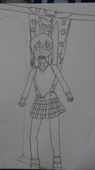 Wedgie request:Maka Albarn by dragonsouloverlord5