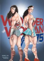 Wonder Woman 75th Tribute by Dracowhip