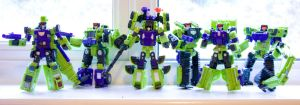 The Decepticon builders by Mangamad