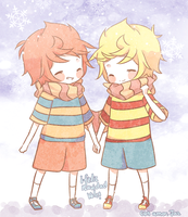 Lucas and Claus for Vale by Matsurika-owo85