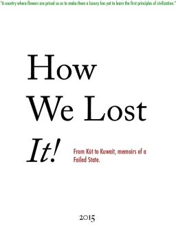 How We Lost It by ovvner