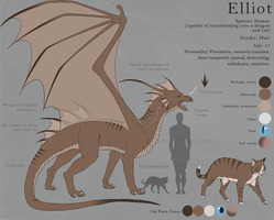 Elliot Reference Sheet by The-Nutkase