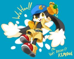 Happy 19th anniversary, Klonoa! by AnRock3