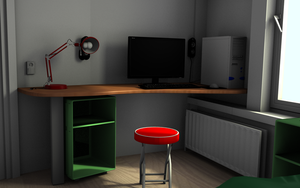 room in color finished by yiutsu