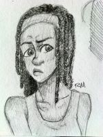 The Walking Deads Michonne by greengal14
