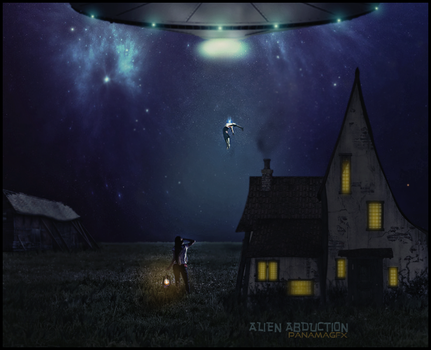 Alien Abduction by Panuniverse