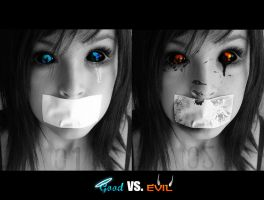 Good vs Evil wallpaper by Ashp9