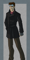 Dorrien - Trench coat Outfit by IrishWolven
