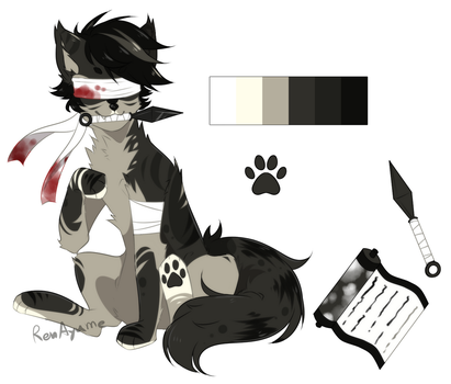 |CLOSE Auction|SB 300pts/$3 Adopt Canine#5 by RenAyumeDeer