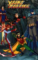 Young Justice: New Earth by phil-cho