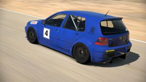 Volkswagen Golf GTI Touring Car (Gran Turismo 6) by Vertualissimo