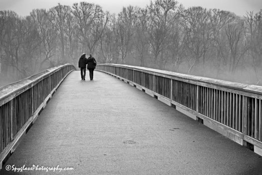 Couple's Bridge by spyglassphotography