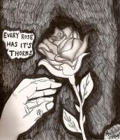 Rose Thorns by magicalgirl27