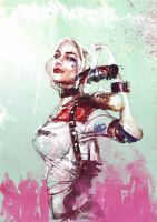 Harley Quinn (Suicide Squad) - HBO commission by neo-innov