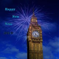 Happy New Year 2014 by BrightStar2