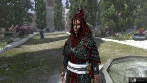 Scarlet Circle faction armour by tulx