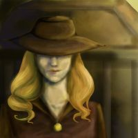 Shady Hat, Shady Woman by HazieAsh