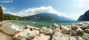 riva del garda - panorama shore (roadtrip to tusca by mystic-darkness