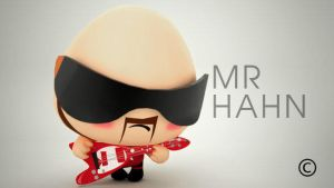 Mr Hahn by myaeonfluxproject
