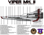 BSG Viper Mk II Side View Technical Callouts by viperaviator