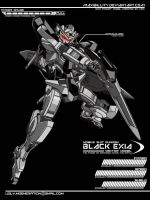 Black Exia by maxibillity