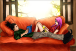 ShikaSaku: Lazy Afternoon by ThreeAM