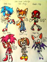 Sonic gender switch *3* by CrystalX123