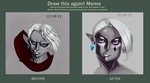 Draw this again - Ghirahim by ani-art