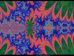 tropical swamp motif fractal by pgmatg