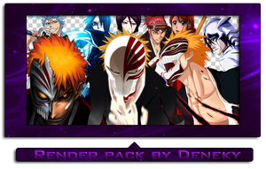 Bleach render pack by Deneky