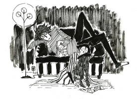 Karin and Lincoln 2 by crazygrin