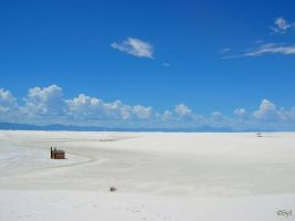 white sands by WALKING-GIRL