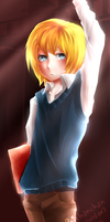 Snk- Library Armin! by Poichanchan