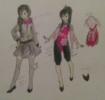Tenshi Mikado -clothing reference- by almost-alice33