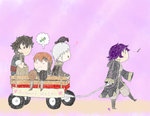 Husband Wagon by spasticArtist