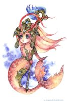 chibi commission : Nami by Lovepeace-S