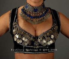 Tribal Ensemble-Front detail by FoxGloveFashions