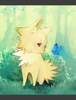 Jolteon by Faelicia