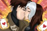 Gambit x Rogue by julialemes0