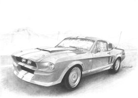Ford Mustang GT500 CR by Barrybal