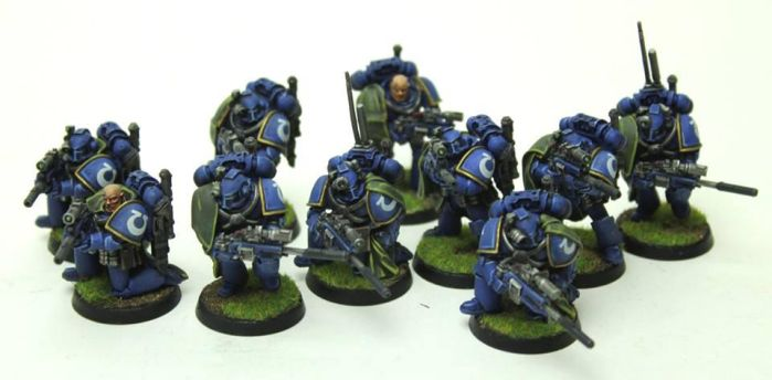 Ultramarines Recon Squad by jstncloud