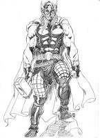 Marvel NOW Thor by JeanSinclairArts