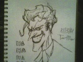 Joker marker sketch by ThomasDrawsStuff
