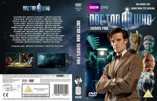 Doctor Who Series 5 DVD Cover (Custom) by OliverGeary
