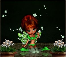 Miss Fairy(Digital Painting) by chamirra