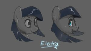 Electra commission - new design concept by DeerHooves