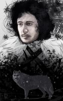 Jon Snow by Rinua